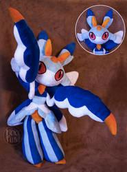 Custom Shiny Lurantis by NoxxPlush