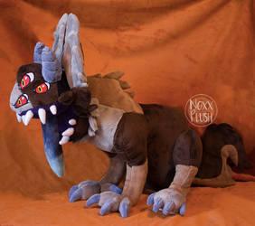 Shoulder Monster Plush