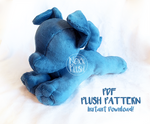Small Dog/ Quadruped PDF Plush Pattern