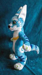 Blue Roo Plush