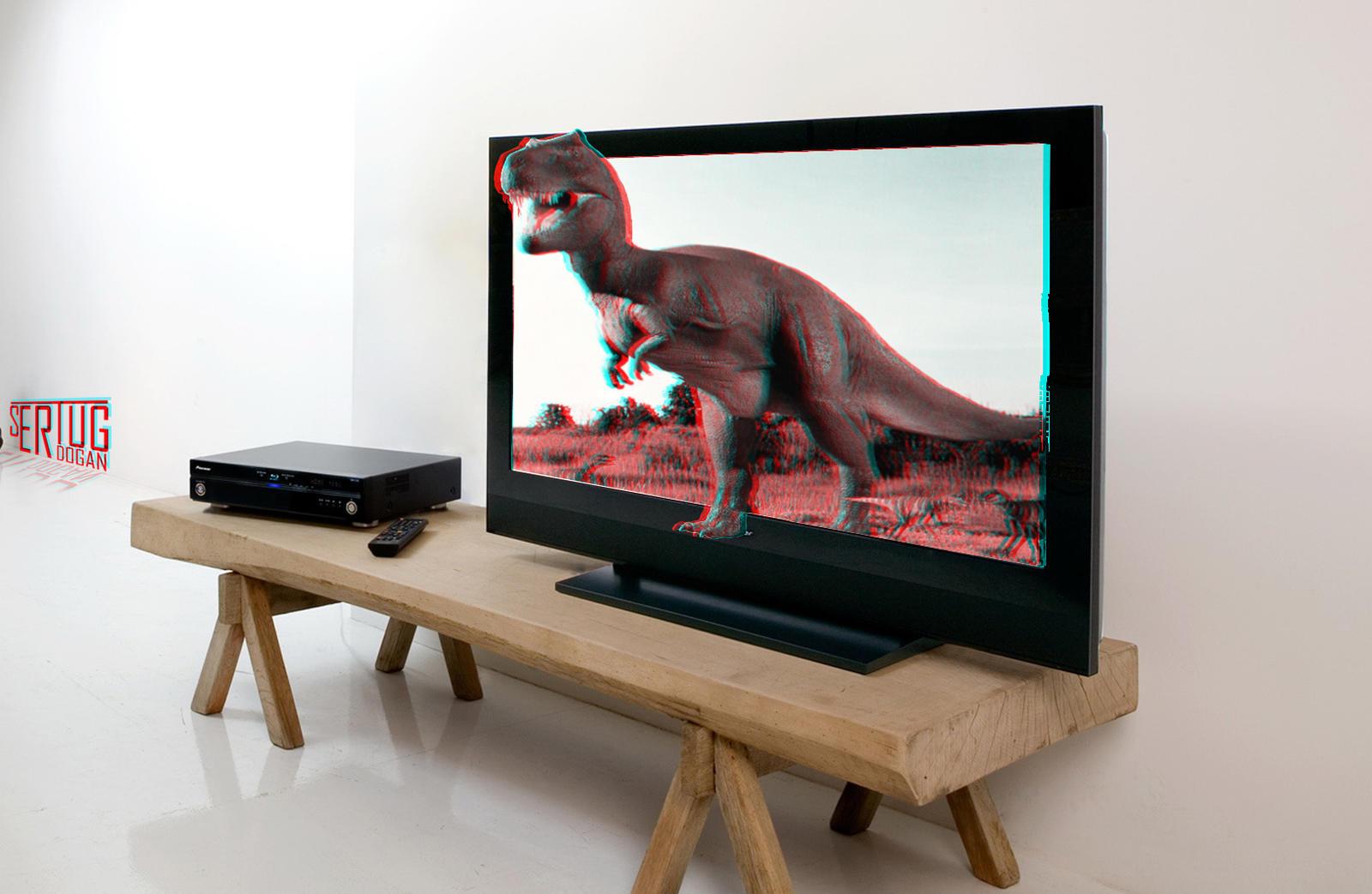3D Televizyon �al��mas�