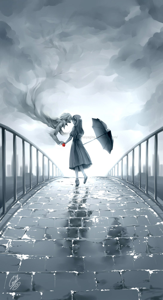 After the Rain by SaiyaGina
