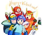 Eh... Megaman Valentines o_o