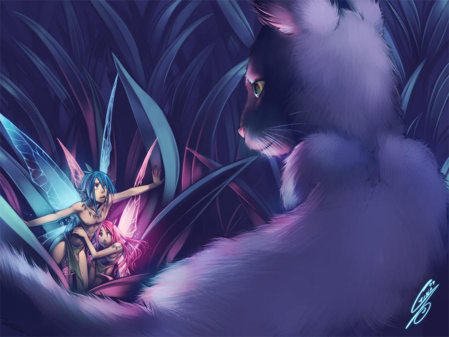 Why humans cant see fairies by SaiyaGina