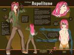 Character Sheet - Napolitano by SaiyaGina