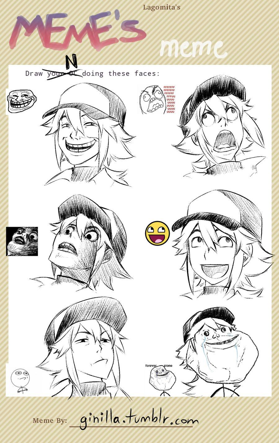 Meme's Meme - N by SaiyaGina
