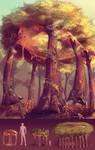 Resin Life Colossus by SaiyaGina