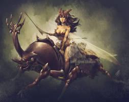 Coleoptera Huntress