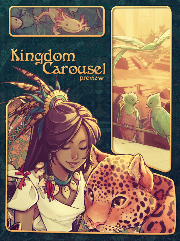 Kingdom Carousel -preview- by SaiyaGina
