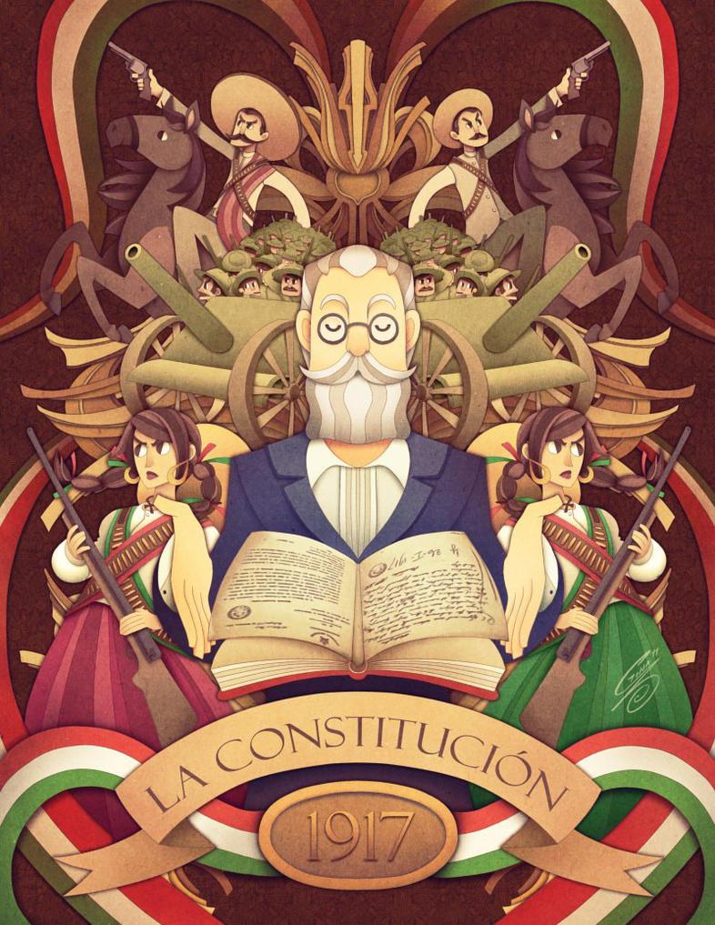 La Constitucion de 1917 by SaiyaGina