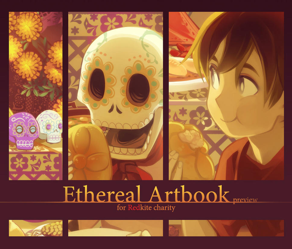 Ethereal Artbook -preview- by SaiyaGina
