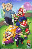 Mario Martinet Bros by SaiyaGina
