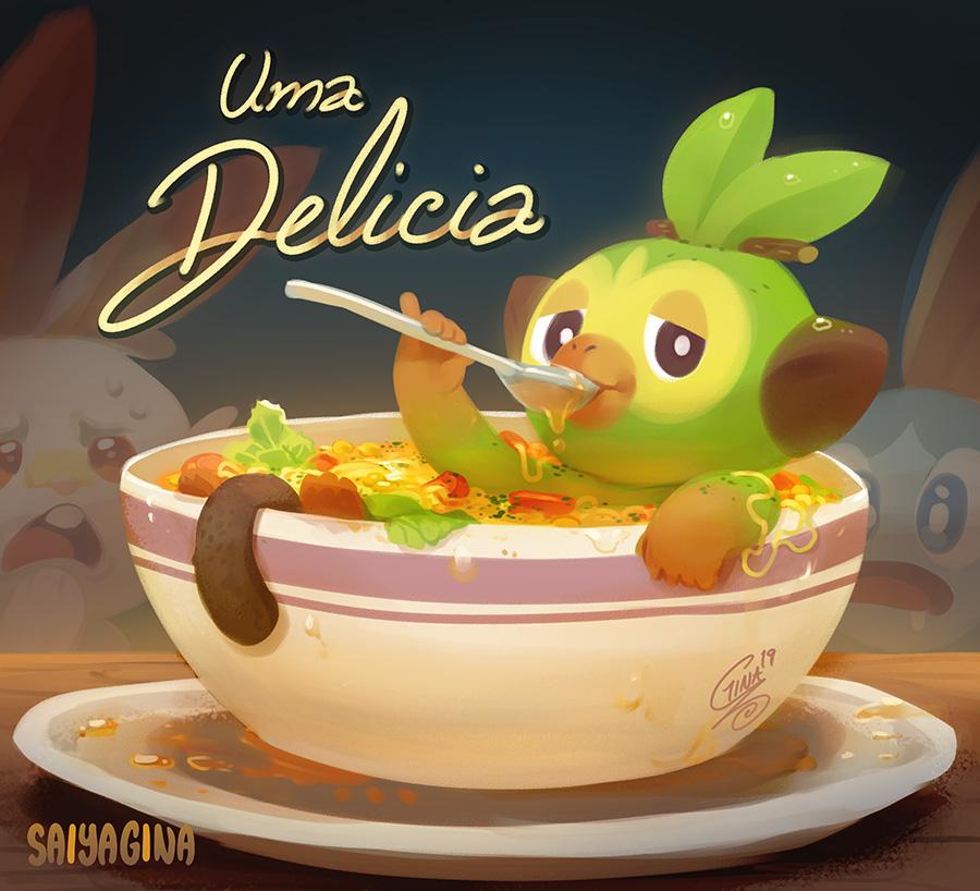 Sopa du macaco by SaiyaGina
