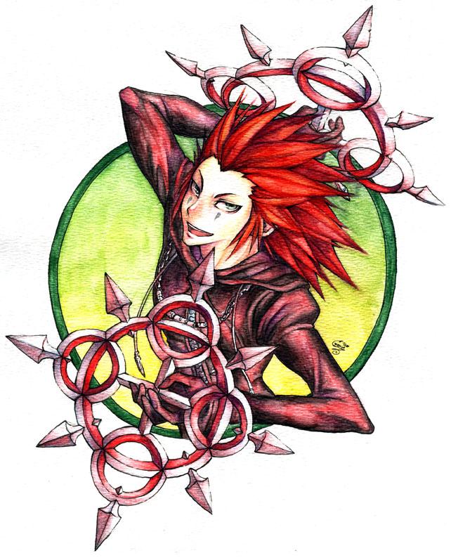 Axel by SaiyaGina