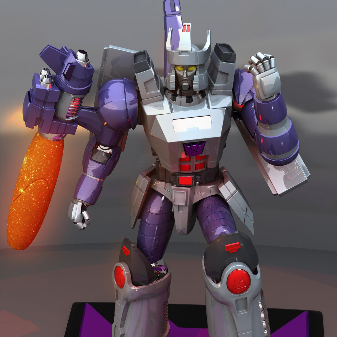 Galvatron Comic Colours by wizardofosmond