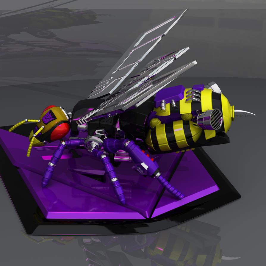 Buzzkill Bee Mode by wizardofosmond