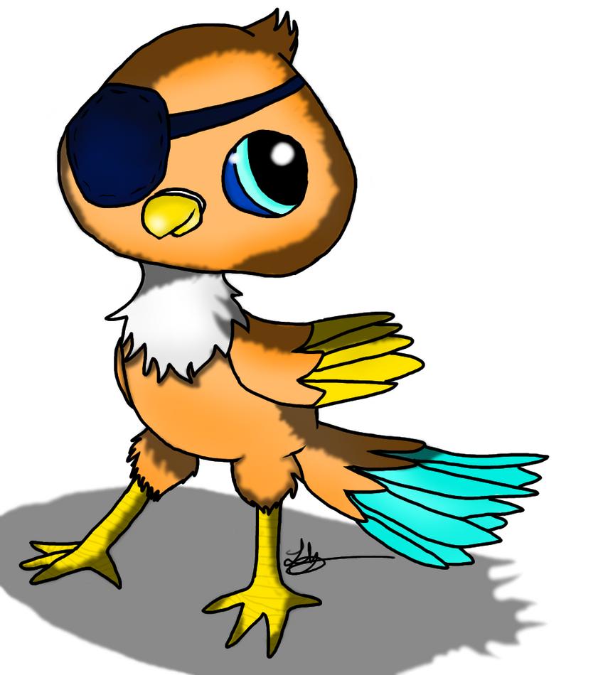 lps pirate parrot by fierceflash on deviantart