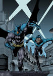 Batman and Nightwing