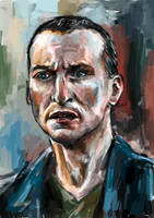 Ninth Doctor by Eleonore