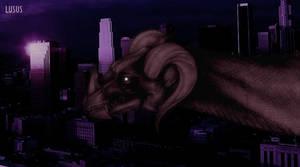 Brown Dragon by L-U-S-U-S