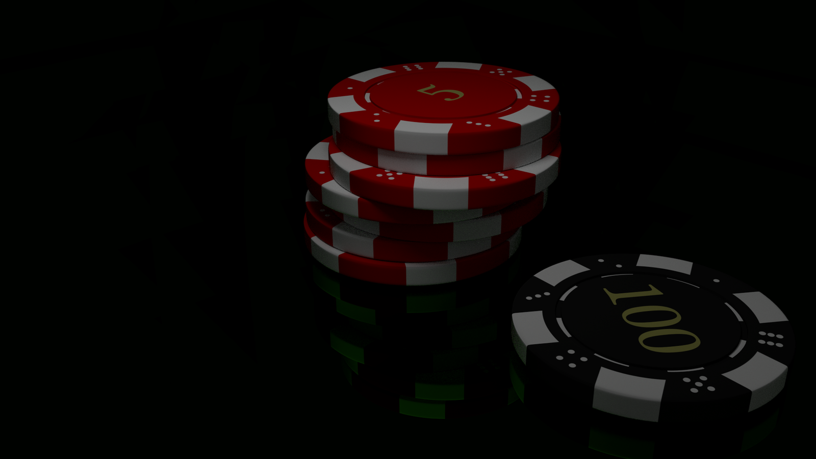 Poker Chips Wallpaper
