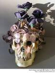 stock 809: Halloween skull 1
