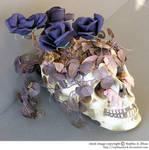 stock 810: Halloween skull 2