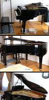 stock 43: grand piano