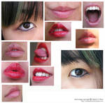 another stock pack : 2eyes+9lips