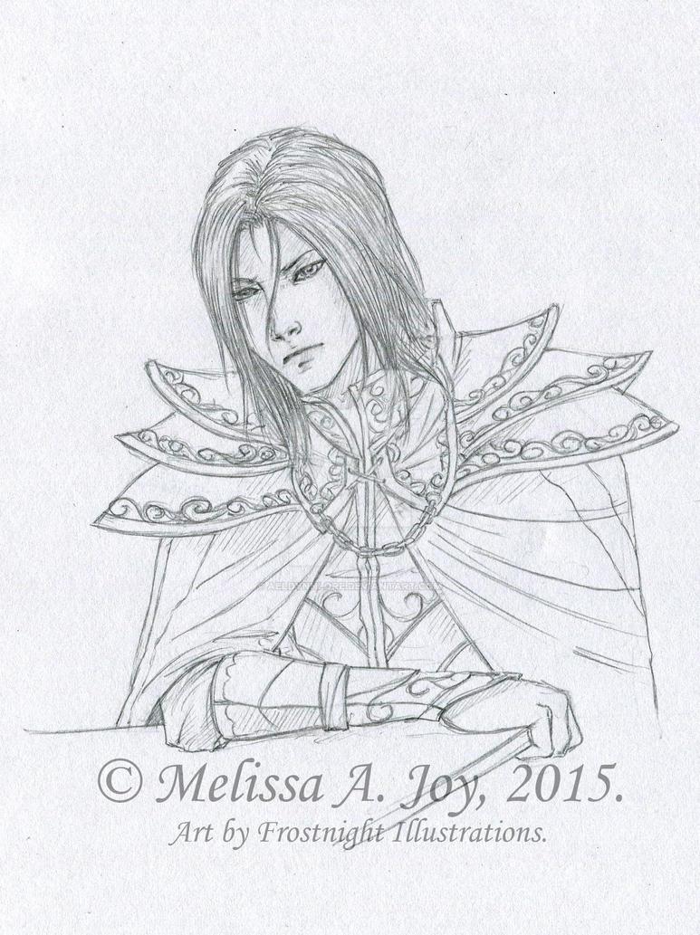 Dreysdan (Concept - Line Art) by AeldynnLore