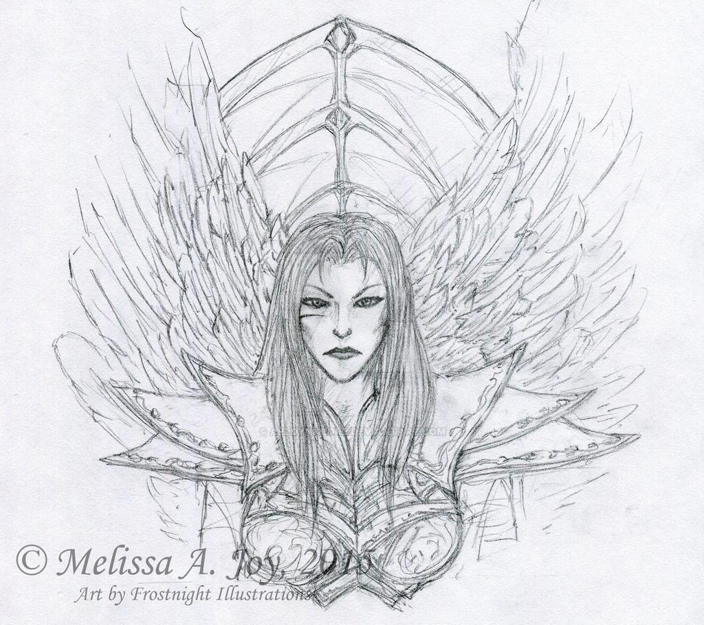 Melkhar (Concept - Line Art) by AeldynnLore