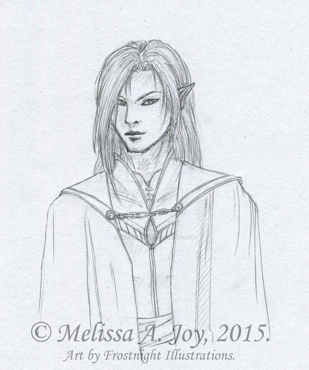 Raeon (Concept - Line Art) by AeldynnLore