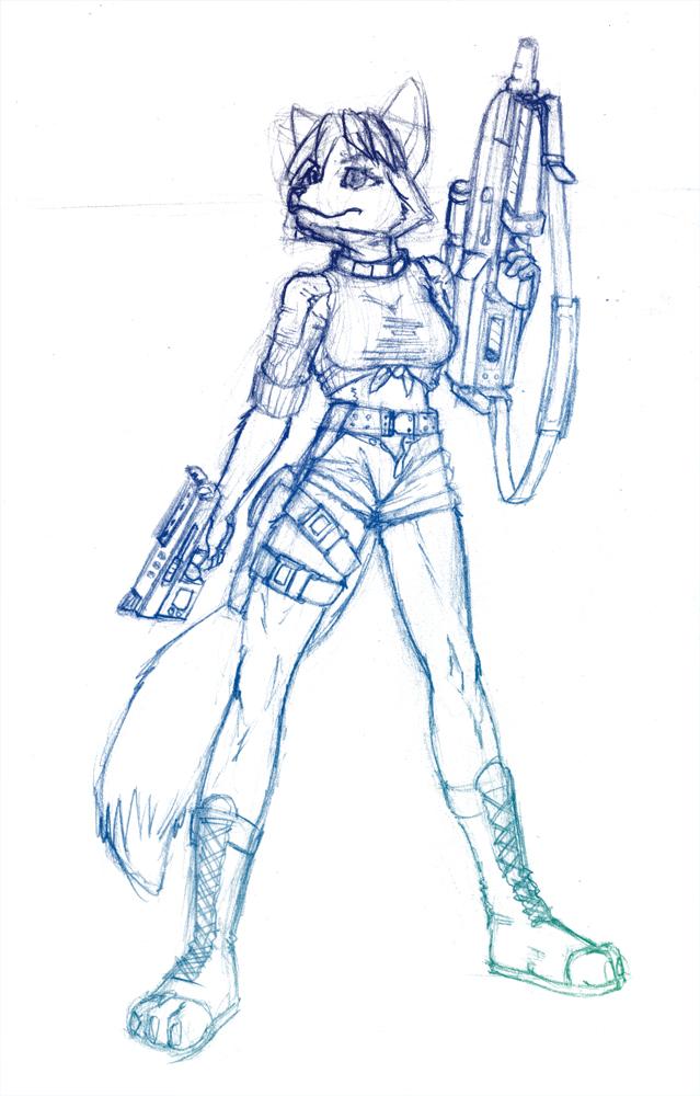 Armed Krystal by RyokuKitsune