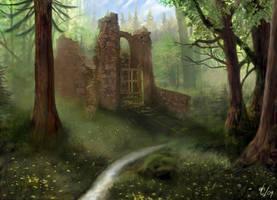 Forgotten Ruins by d3fect