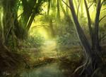 Jungle Study by d3fect