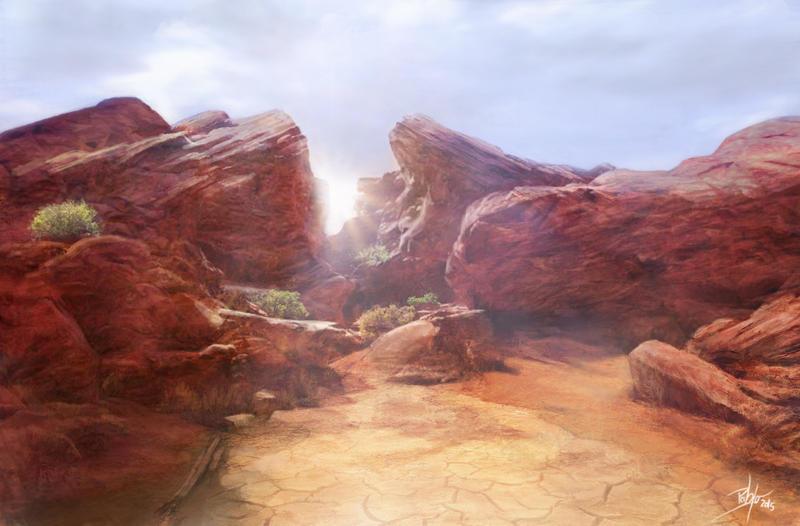 Desert Environment by d3fect