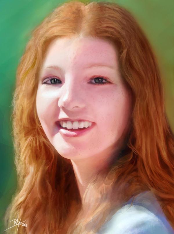 Portrait 5 by d3fect