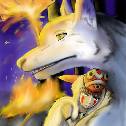 Mononoke by tricksterfox18
