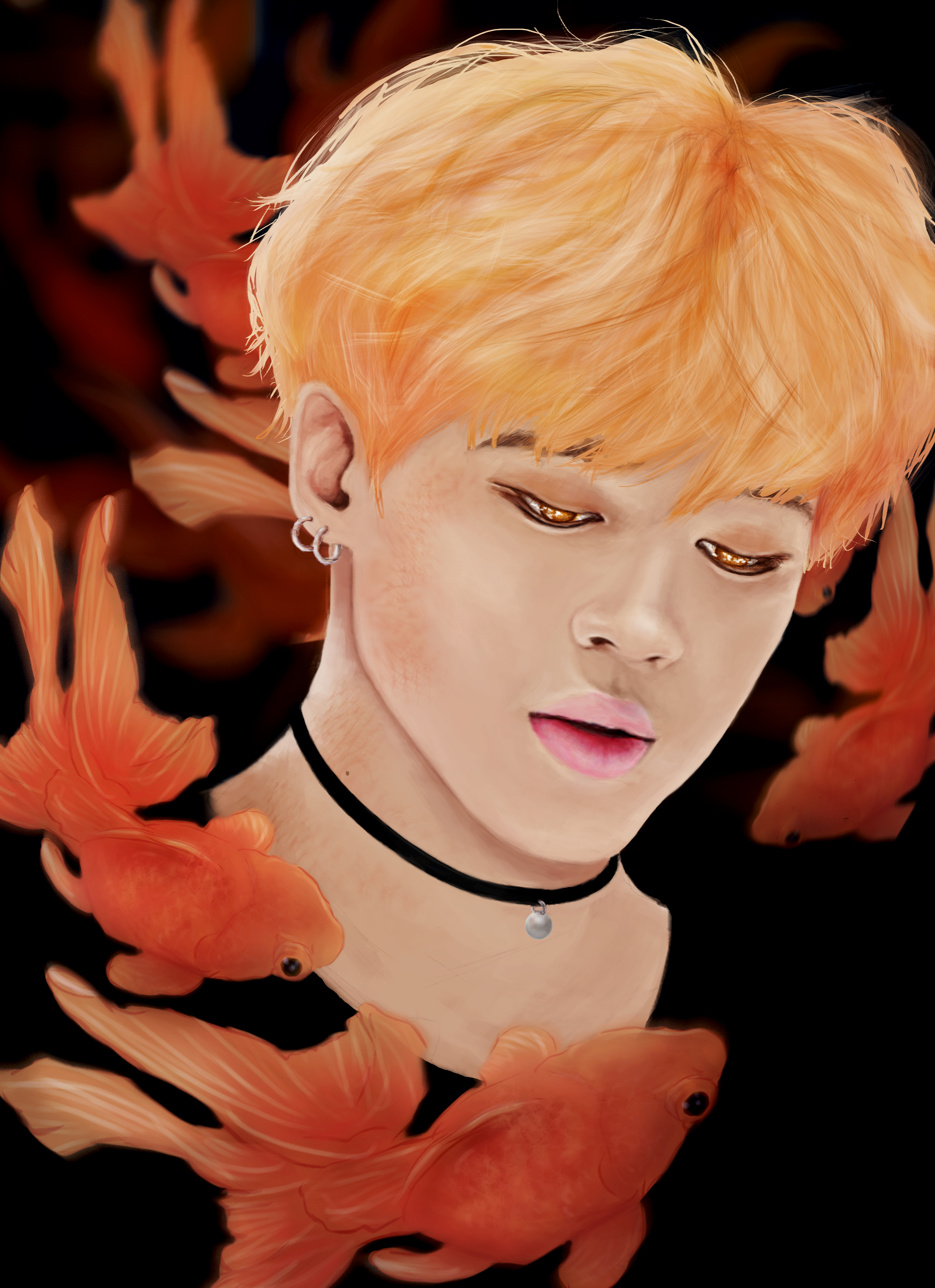 goldfish jimin by mazazuki on deviantart
