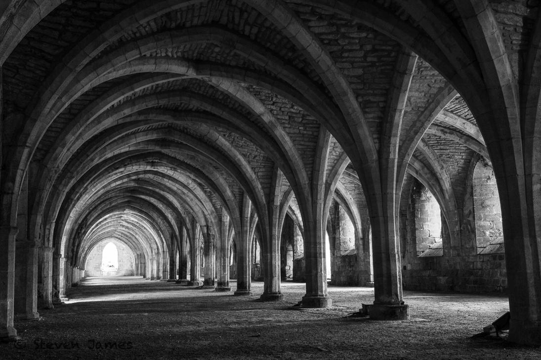 Fountains Abbey 3 by StevenJames1982