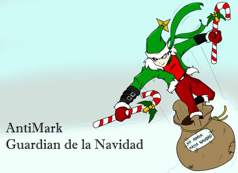 AntiMark Guardian de la Navidad by 2GR-BeyondOfReality