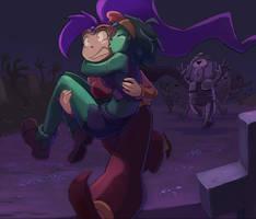 Run Run Rottytops! by greenlittle