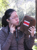 Domo is hungry by sunshinemylove