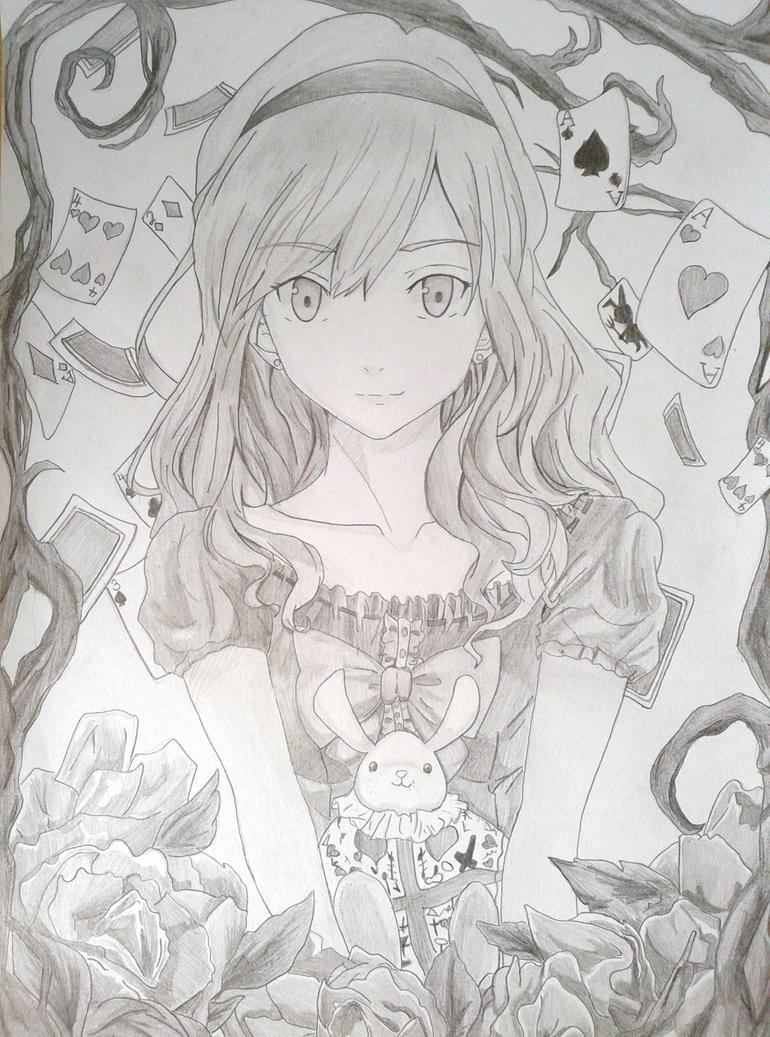 Alice in Wonderland (Anime version) by SkylartMichiyo on ...