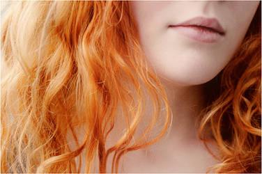 my red hair by gaiakiyarae