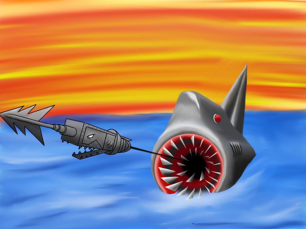 James And The Giant Peach Shark By Flyingvee88 On Deviantart