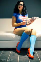 Geek Girl Pinup 1