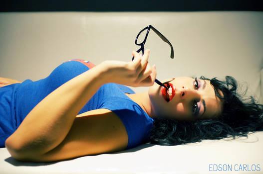Geek Girl Pinup 4