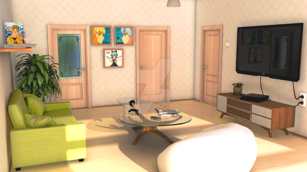 Living Room Mls By Dotterian On Deviantart