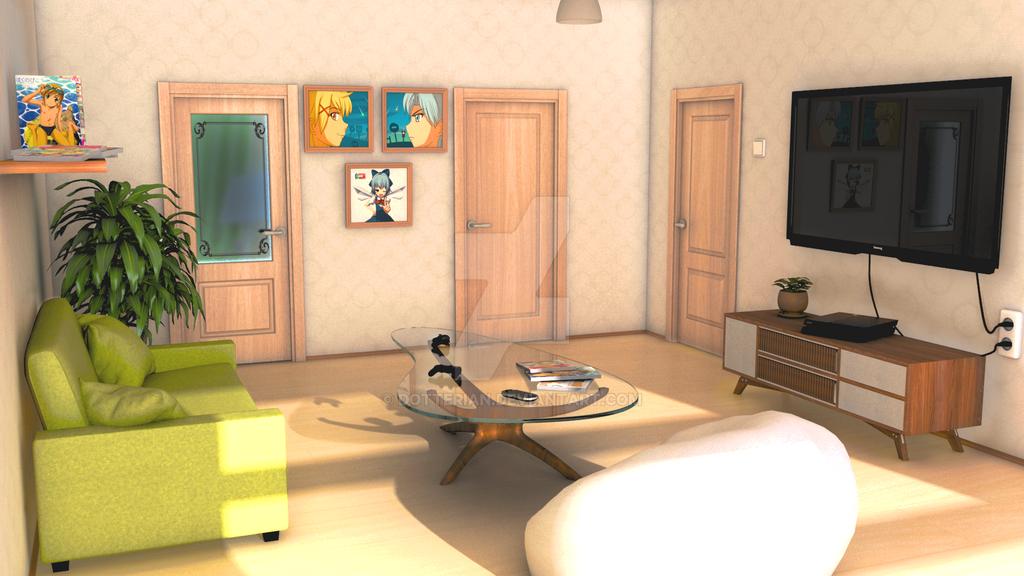Living Room Mls By Dotterian On Deviantart